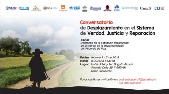 ¿CÓMO SERÁ LA VERDAD Y LA JUSTICIA PARA LAS MÁS DE 7 MILLONES DE VÍCTIMAS DE DESPLAZAMIENTO EN COLOMBIA?