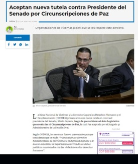 NOTICIA TUTELA RCN